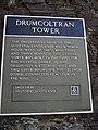 Sign at Drumcoltran Tower - geograph.org.uk - 906490.jpg