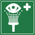 Sign eyewash.svg