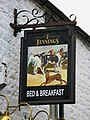 Sign for the Hare and Hounds - geograph.org.uk - 714630.jpg