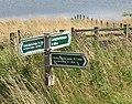 Signpost, Whiteadder Reservoir - geograph.org.uk - 1459231.jpg