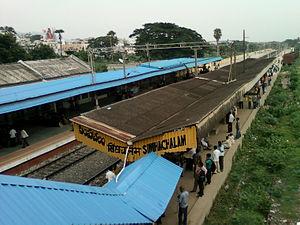 Simhachalam railway station - Image: Simhachalam Railway Station View