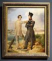 Simon Meister, Selbstbildnis mit Bruder Nikolaus 1833– 1834.jpg