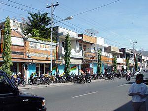 Singaraja - Near the crossing of Ahmad Yani Street and Diponegoro Street