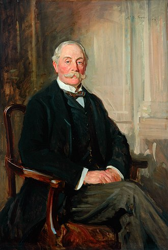 Henry Meysey-Thompson, 1st Baron Knaresborough - A 1912 portrait of Meysey-Thompson by R. G. Eves.