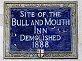 Site of The Bull and Mouth Inn Demolished 1888.jpg