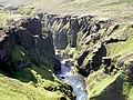 Skogar Trek in Iceland 2005.JPG
