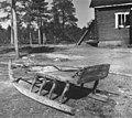 Slede av samojedisk type. Feodorofs gård 1959 - Norsk folkemuseum - NF.06209-013.jpg