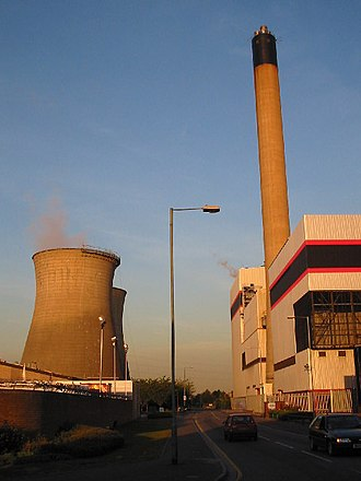 Slough Trading Estate - Slough Power Station (2005)