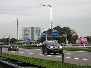 A28 motorway (Netherlands) - The A28 near interchange Rijnsweerd.