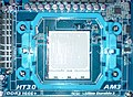 Socket AM3 on Gigabyte GA-MA790FXT-UD5P 20090702.jpg