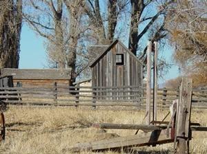 Sod House Ranch - Original buckaroo bunkhouse