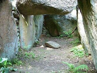 Necropolis of Soderstorf - Image: Soderstorf Steingrab b