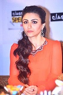 Soha Ali Khan Indian actress