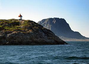 Vega, Norway - Image: Sola
