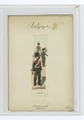 Soldier with trumpet in front of mounted solder, with a third holding the horse's reins. 1843-47 (NYPL b14896507-86038).tiff