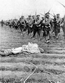 Soldiers marching, 1st Russian army, Russo-Japanese War, photo Victor Bulla.png