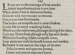 Sonnet 116 poem by William Shakespeare