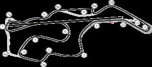FIA WTCC Race of the United States - Image: Sonoma (WTCC) layout