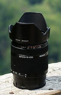 Konica Minolta AF Zoom DT 18-200mm f/3.5-6.3 (D)