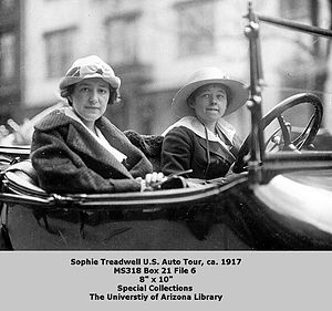 Sophie Treadwell - Treadwell on U.S. Auto Tour