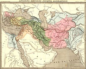 History of Balochistan - Ancient empires at the time of Alexander the Great