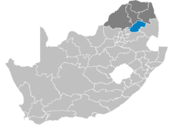 Ligging Greater Sekhukhune District Municipality