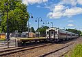 Southbound Metro-North Harlem Line train departing Dover Plains, NY, station.jpg
