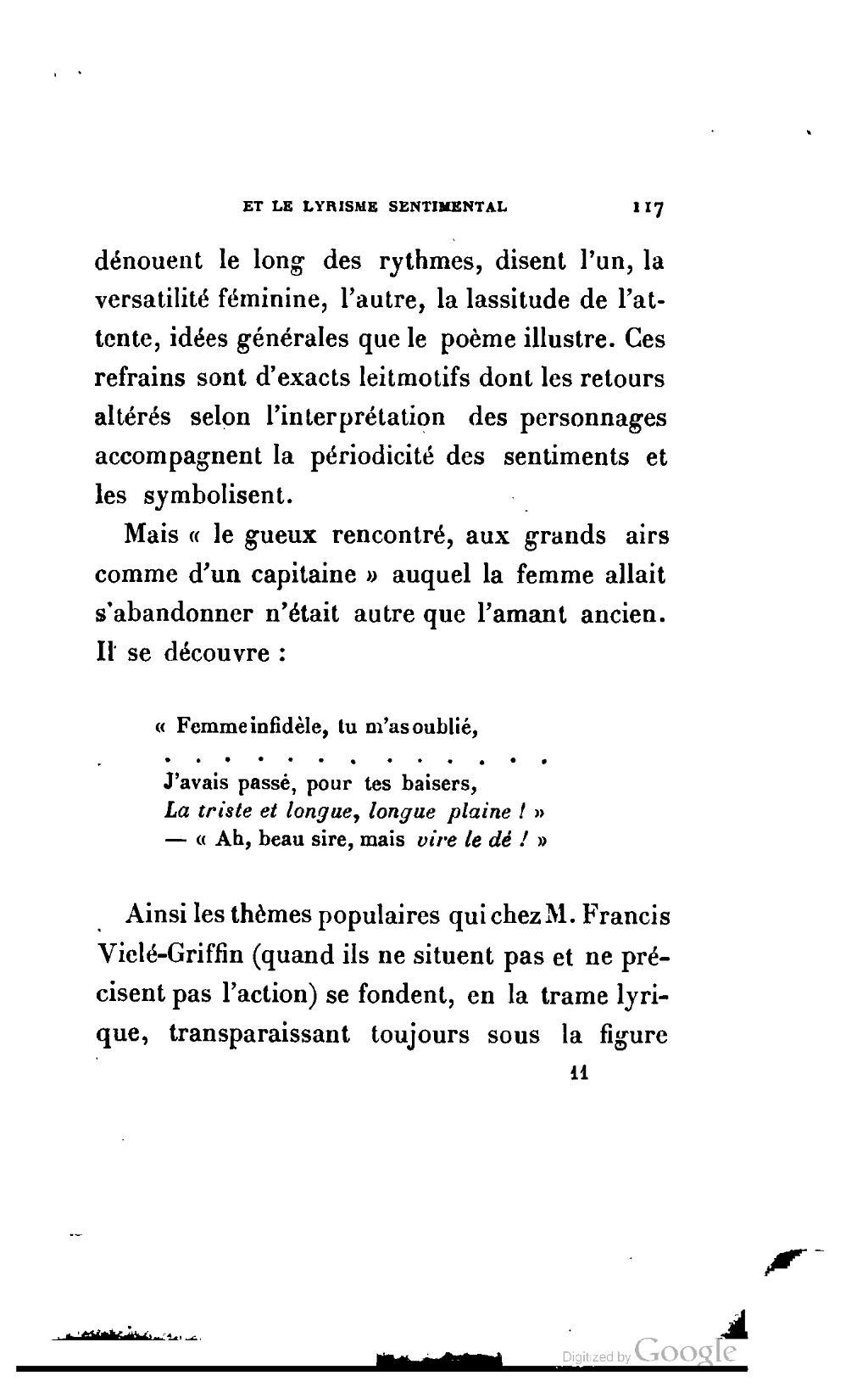 Pagesouza La Poésie Populaire Et Le Lyrisme Sentimental