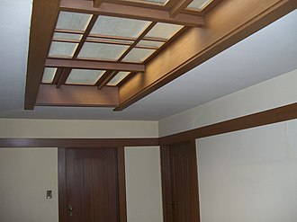 Spinks House - Second-story skylight