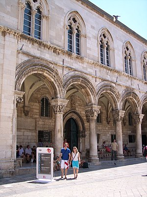 Rector's palace in Dubrovnik (Croatia)