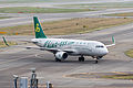 Spring Airlines, 9C8777, Airbus A320-214, B-1896, Arrived from Chongqing, Kansai Airport (17171466256).jpg