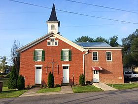 Springfield United Methodist Church Springfield WV 2014 09 10 01.jpg