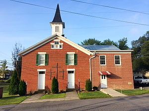 Springfield, West Virginia - Springfield United Methodist Church