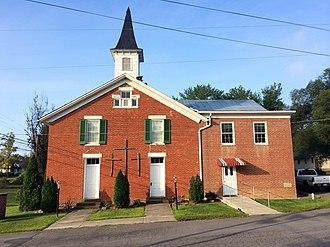 Springfield, West Virginia - Springfield United Methodist Church