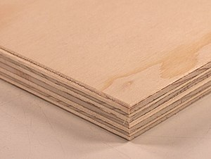 English: Finnish spruce plywood