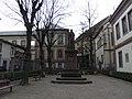 Square Pfeffel, monument Pfeffel, Impasse Hoffmeister (Colmar).JPG