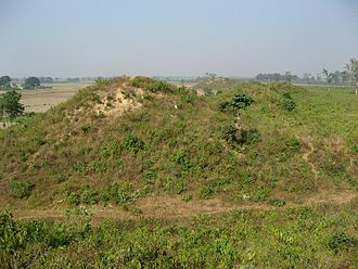 Kosala - The ruins of the city walls of Shravasti, the capital of the Kosala kingdom.