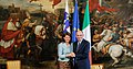 Srečanje premierke Alenke Bratušek z italijanskim premierom Enricom Letto 2013 (2).jpg