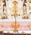 St. Andreas (Babenhausen) Standing crucifix.jpg