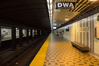 St. Clair West station Toronto subway station