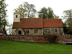 St. Ethelbert and All Saints church, Belchamp Otten, Essex - geograph.org.uk - 164956.jpg