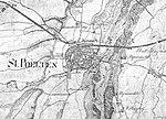 St. Pölten in der Franziszeischen Landesaufnahme (zwischen 1806-1869).jpg