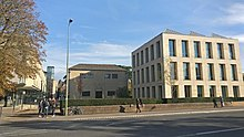 St Anne's College Oxford viewed from Woodstock Road.jpg