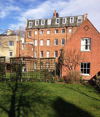 St Benet's Hall, Oxford - St Benet's Hall Garden