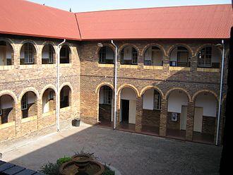 St Catherine's School, Germiston - The Quad at St Catherine's School on a Saturday