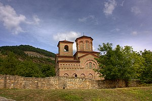 Church of St Demetrius of Thessaloniki, Veliko Tarnovo - Image: St Demetrius Tarnovo Klearchos 4