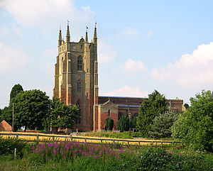 Monks Kirby - Image: St Edith's Church, Monks Kirby