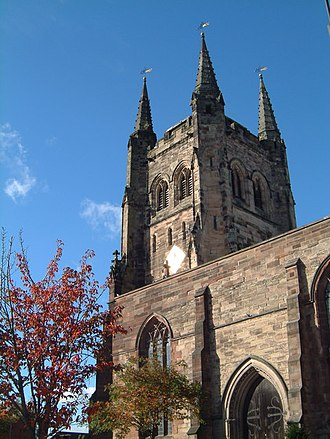 Thomas Blake (minister) - St Editha's church, Tamworth