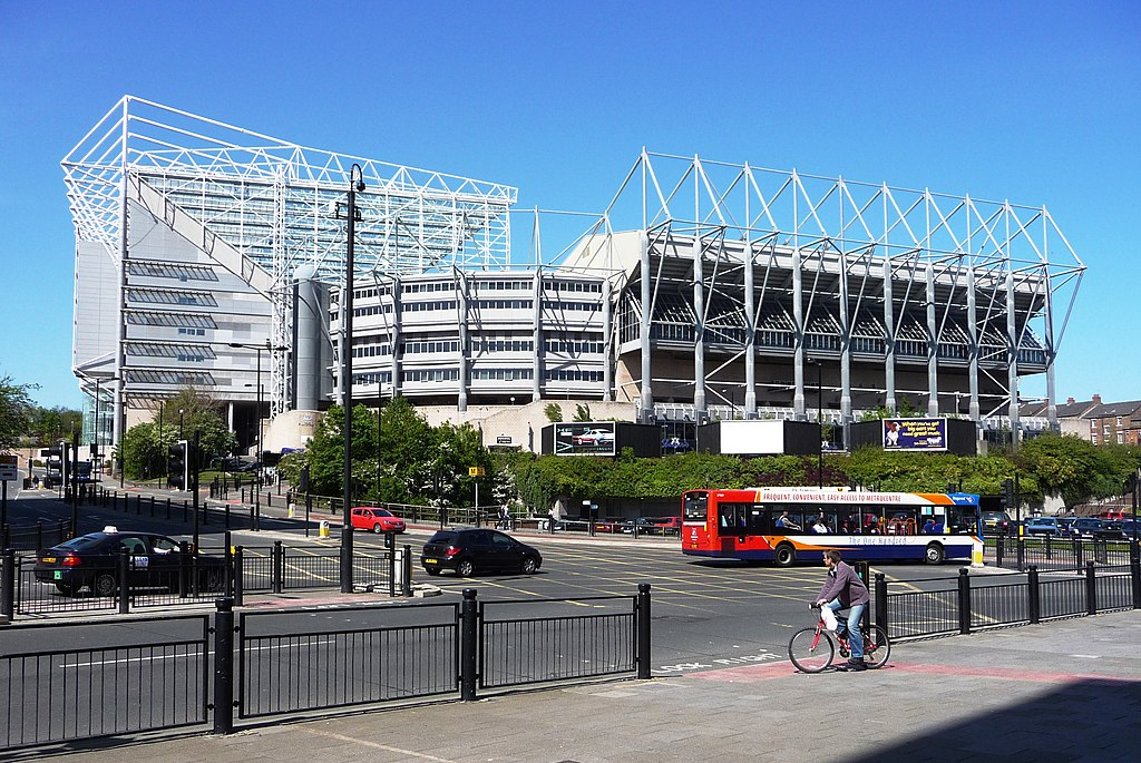 St James Park Newcastle
