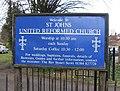 St Johns United Reformed Church sign - geograph.org.uk - 1217544.jpg